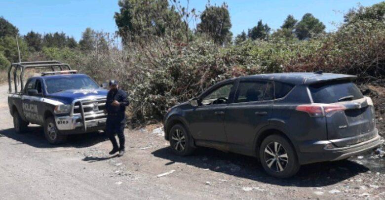 Recuperan vehículo con reporte de robo en Pátzcuaro