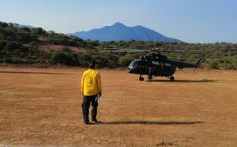 Se incendia el cerro El Tzirate de Quiroga