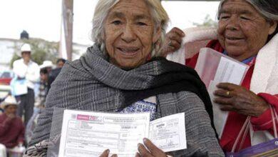 Adelantarán dos bimestres de pensión a adultos mayores