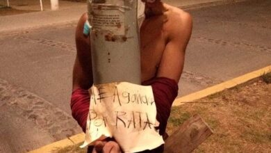 Vecinos amarraron y azotaron a presunto ladrón en Morelia
