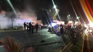 VIDEO: Choque deja 4 muertos y seis heridos en Morelia