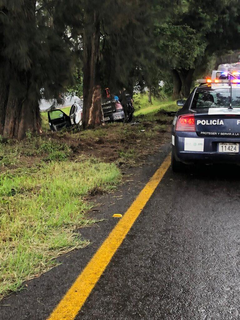 Nuevas imágenes del accidente de la Guardia Nacional en Pátzcuaro