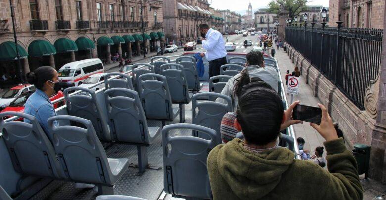 Regresan paseos de tranvías de Morelia