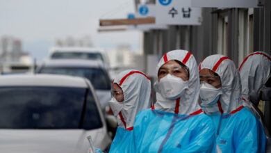 Se propaga en Corea del Sur una cepa de coronavirus 6 veces más infecciosa que la original