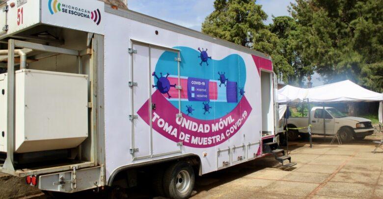 Víctor Báez hace un llamado para acudir a la unidad médica móvil de toma de muestras COVID-19