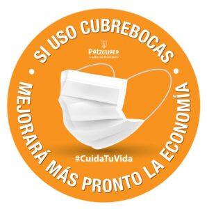 Pátzcuaro lanza campaña para el uso de cubrebocas