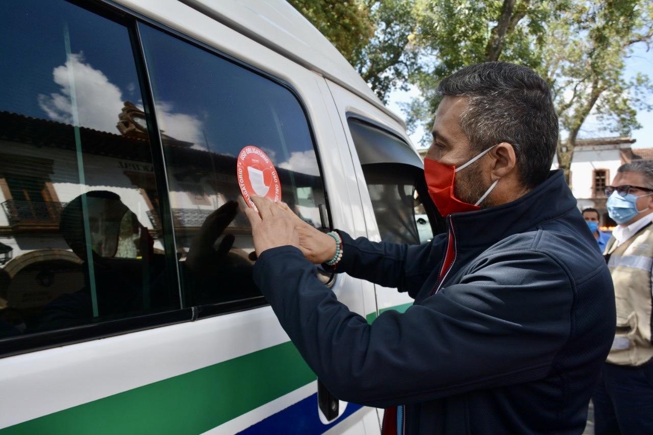 Pátzcuaro lanza campaña para uso de cubrebocas