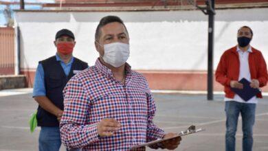 Continúa rehabilitación de espacios públicos en colonias y comunidades de Pátzcuaro