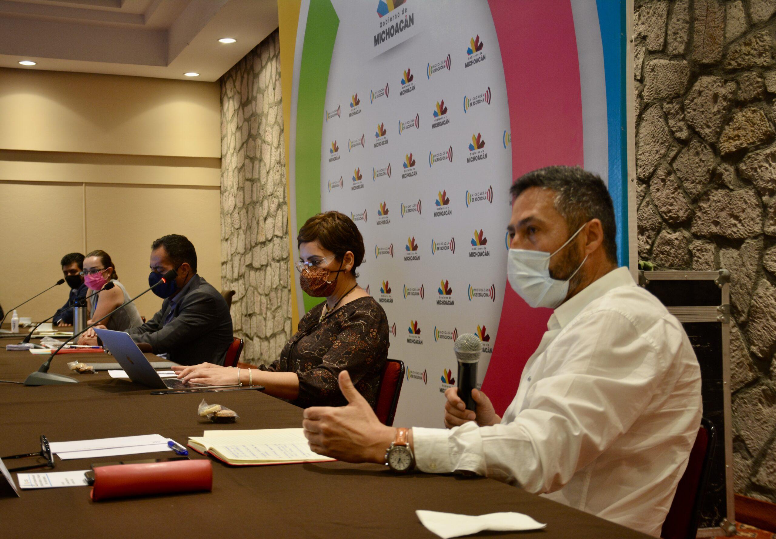 Celebración de Noche de Ánimas, a valoración de alcaldes de la región Pátzcuaro y de Gobierno del Estado