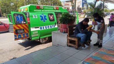 Explota puesto de tacos por fuga de gas en Michoacán