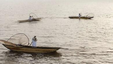 Pescadores del lago de Pátzcuaro en la portada de la revista Vogue