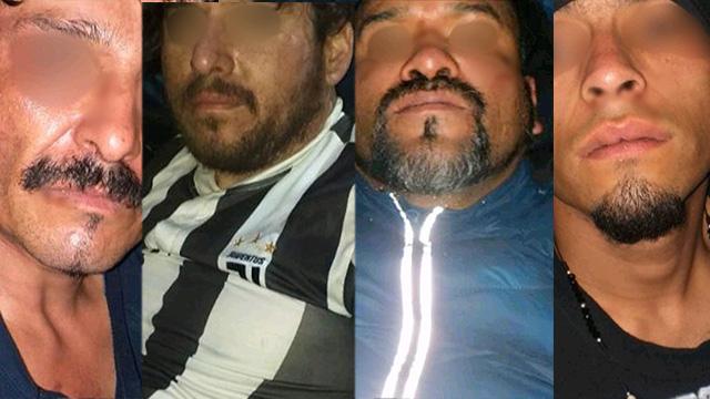 Presentan a 4 sospechosos de secuestrar a un hombre en Pátzcuaro
