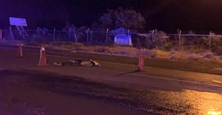 Uruapan: Hombre muere atropellado en la salida a Pátzcuaro