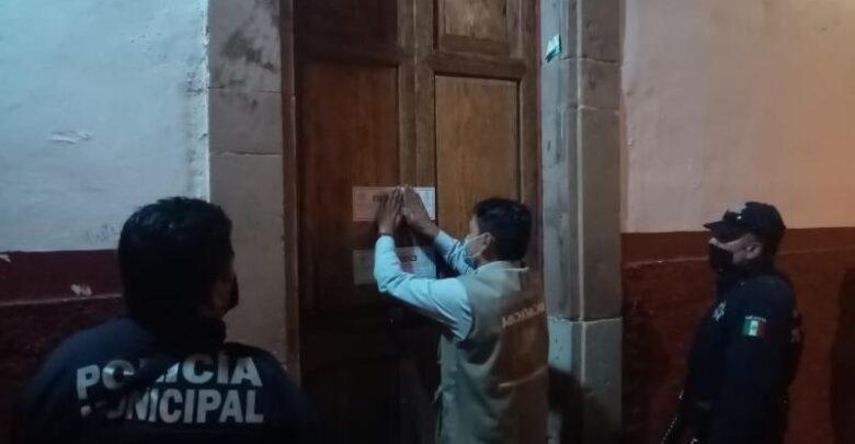 Clausuran más negocios en Pátzcuaro por no cumplir las medidas sanitarias