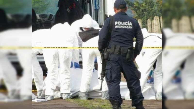 Con un disparo en la cabeza, ejecutan a un hombre en Pátzcuaro