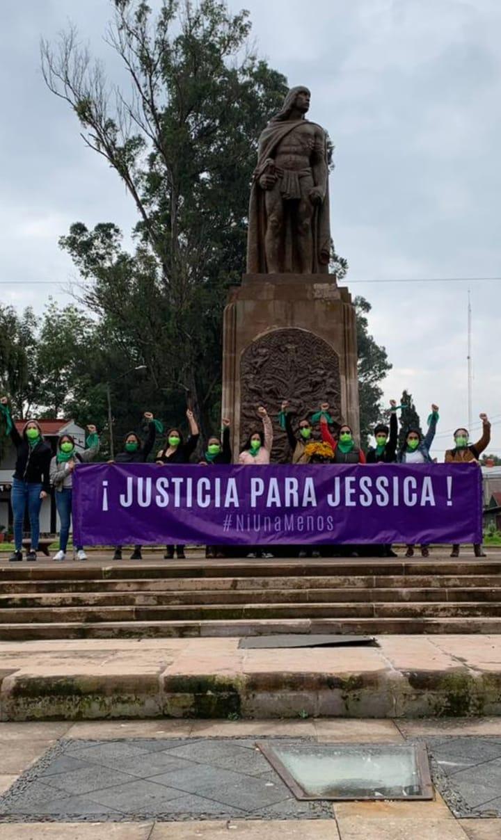 Exigen justicia para Jessica desde Pátzcuaro