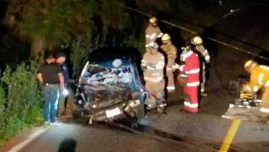Trágico accidente en la carretera Pátzcuaro-Uruapan