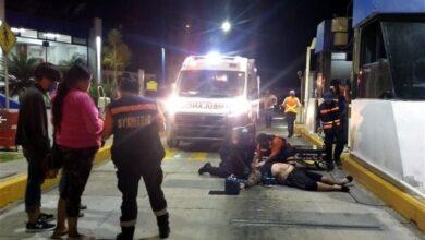 Atropellan a dos manifestantes en caseta de Michoacán; uno murió