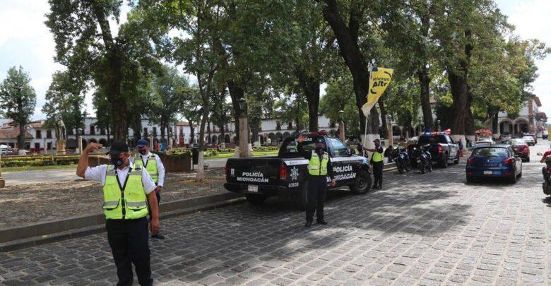 Repartirán cubrebocas en la zona de Pátzcuaro para Noche de Ánimas - Noche de Muertos -
