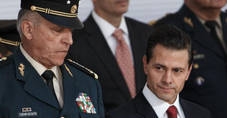 Detienen a Salvador Cienfuegos, ex secretario de la Defensa Nacional de Peña Nieto en Estados Unidos