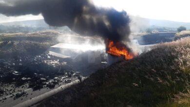 Trágico choque entre tráiler y vehículo sobre la carretera Morelia - Salamanca