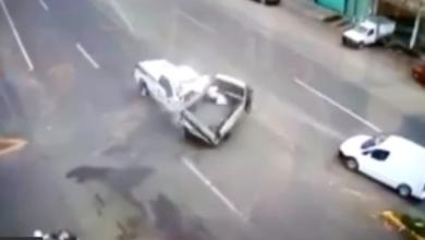 VIDEO: Difunden grabación del accidente en Pátzcuaro