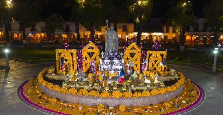 GALERÍA: Noche de Ánimas o Día de Muertos en Pátzcuaro