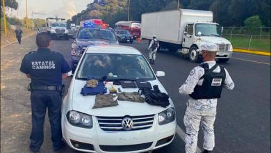 Detienen a 3 personas en Salvador Escalante en posesión de cartuchos y equipo táctico