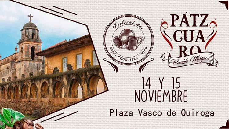 Víctor Báez inaugura Festival del Café, Chocolate y Vino en Pátzcuaro 2020 [FOTOS] - Pátzcuaro Noticias