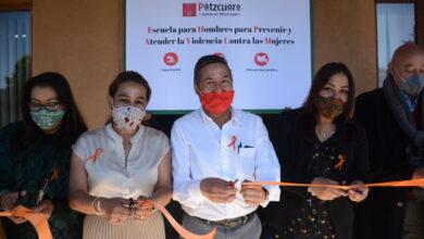 Inaugura Víctor Báez primera escuela en Michoacán para prevenir, atender y erradicar la violencia contra las mujeres