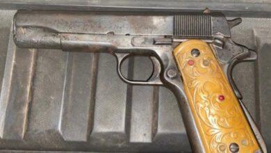 Lo detienen en Pátzcuaro por portar un arma de fuego