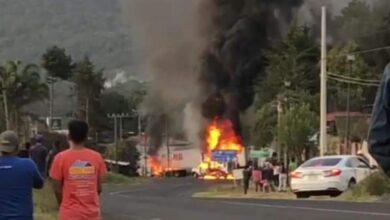 FOTOS: Santa Clara del Cobre bajo fuego