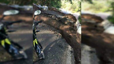 Cárteles destrozan carretera de Aguililla, Michoacán