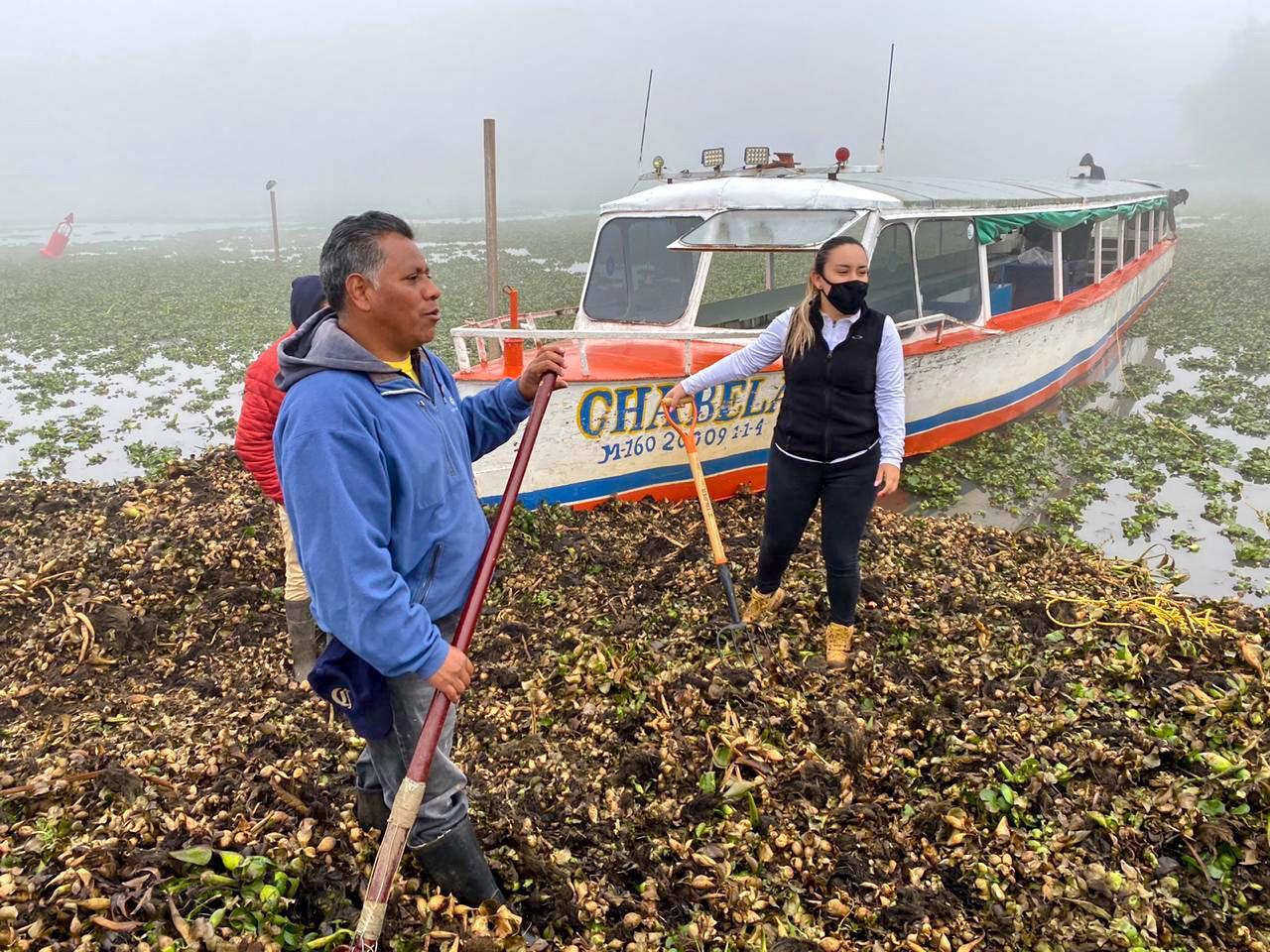Se suman más ciudadanos para limpiar el lago de Pátzcuaro