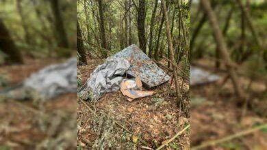 Encuentran campamento de delincuentes en Pátzcuaro