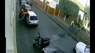 VIDEO: Le roban frente a la presidencia de Pátzcuaro