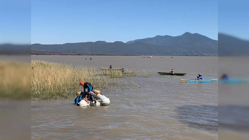CONFIRMADO: Hallan a Ginebra, niña desaparecida en el lago de Pátzcuaro