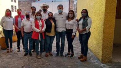 Comité y seccionales del PRI refrendan el apoyo a Luis Felipe León Balbanera
