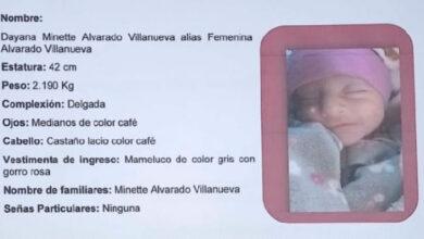 Buscan a la madre de una bebé; se cree que es de Pátzcuaro