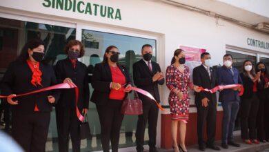 Inaugura remodelación de presidencia municipal Luis Felipe León Balbanera
