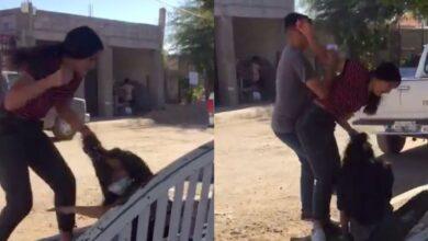 "VIDEO: ""Ya, ya me pegaste"": video muestra brutal golpiza a una joven"