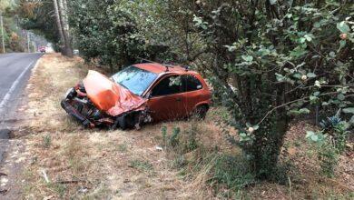 Auto se estrella contra camión en la carretera Pátzcuaro-Tacámbaro