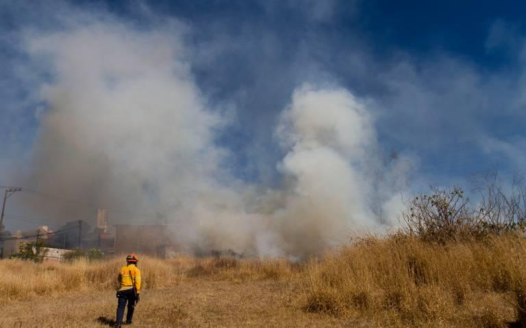 Se registra un nuevo incendio en Tócuaro, Erongarícuaro