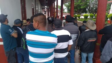Protesta en Huiramba por falta de agua