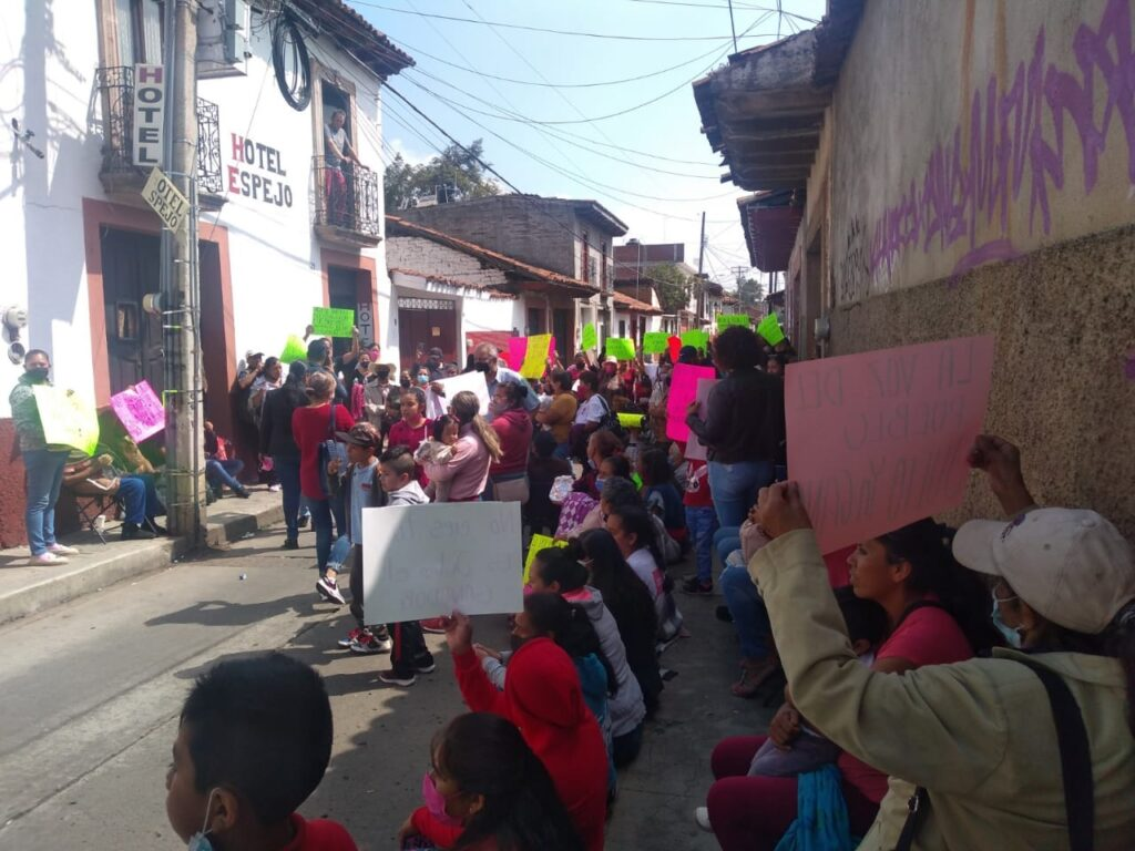 Recuento de votos en Pátzcuaro