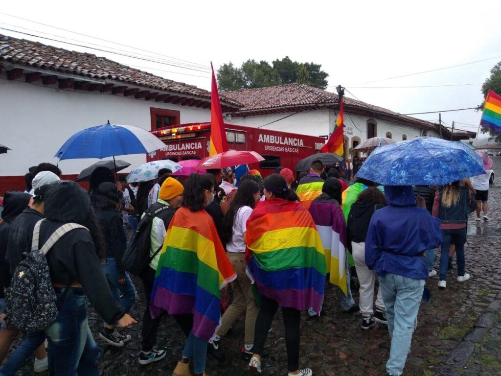 Primera Marcha LGBTTTIQ en Pátzcuaro 2