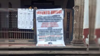 Revelan mensaje de narcomanta de Pátzcuaro [SIN CENSURA]