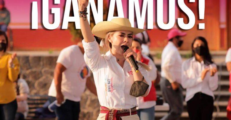 Samanta Flores Adame es elegida diputada local con cabecera en Pátzcuaro
