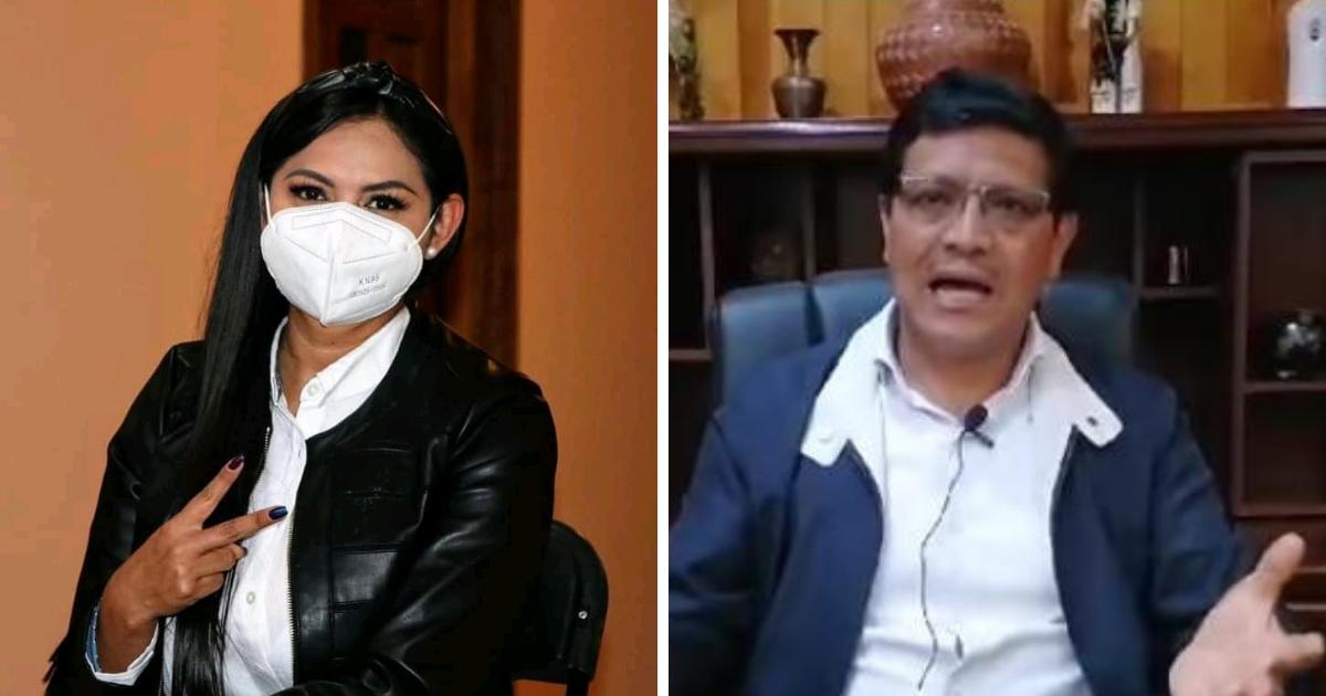 Guerra de declaraciones entre Araceli Saucedo y Jesús Lucas Ángel en Salvador Escalante