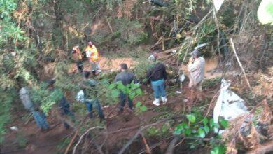 Rescatan cuerpo de Patzcuarense arrastrado por la corriente en Huiramba